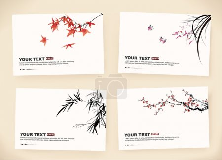 Illustration for Gift cards - Royalty Free Image