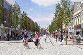 New shopping street