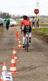Cycling away