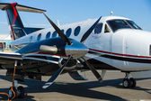 Twin-turboprop aircraft Beechcraft King Air, Model B250