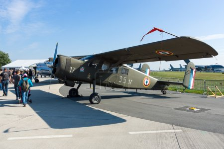 Aircraft Max Holste MH.1521 Broussard