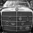 Постер, плакат: BERLIN MAY 11: The radiator grille and badges club car Mercede