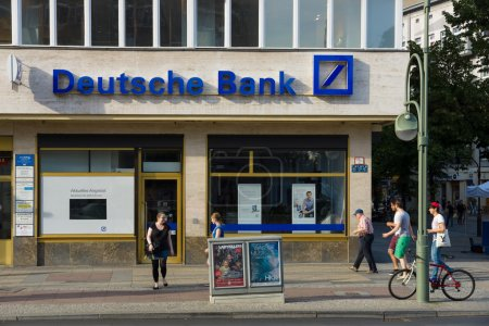 Deutsche Bank AG is a German global banking and financial services company
