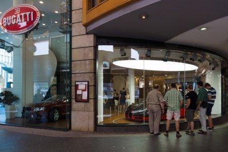Bugatti dealership on Friedrichstrasse