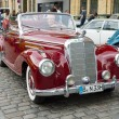 Постер, плакат: Full size luxury car Mercedes Benz 220 Cabriolet A W187
