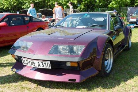 A sports car Renault Alpine