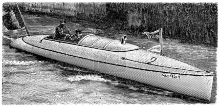 "Powerboat ""Mercedes IV"""