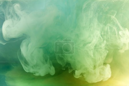 Photo for Watercolor in water, background. - Royalty Free Image