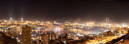Vladivostok cityscape.