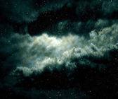Star field and nebula.