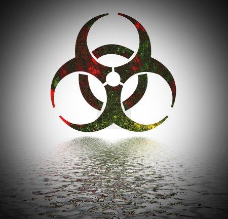 Biohazard sign.