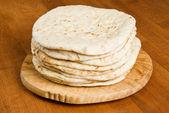 Pile of Pita Bread