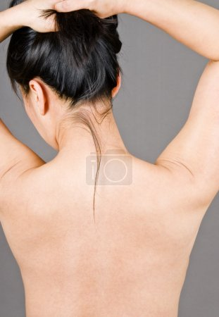 Womans Bare Back