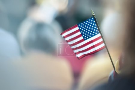 Photo for Mini american flag - Royalty Free Image