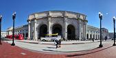 paniramic View of Union station in Washington DC