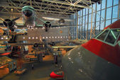 National Air and Space museum in Washington holds the largest c