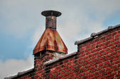 rusty chimney