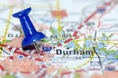 durham city pin on the map