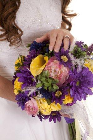 bride ring flowers