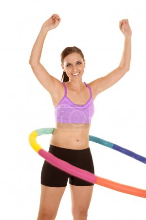 arms up hoop