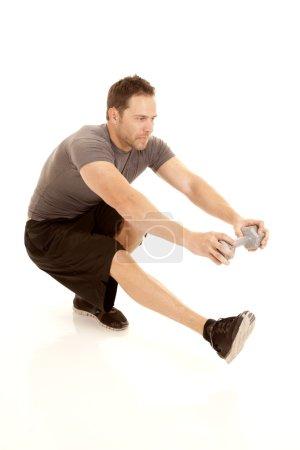 one leg squat weight