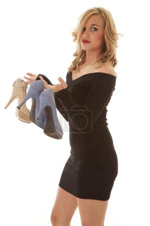 black dress shoes side