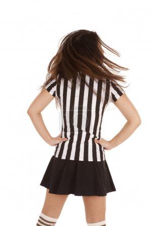 referee woman back