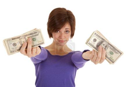 Lots of cash hands
