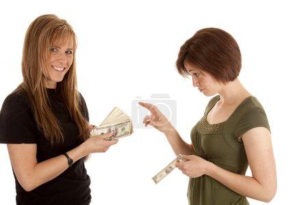 Wishing had money