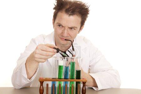 Mad scientist bite glasses dropper