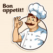 Illustration of a chef...