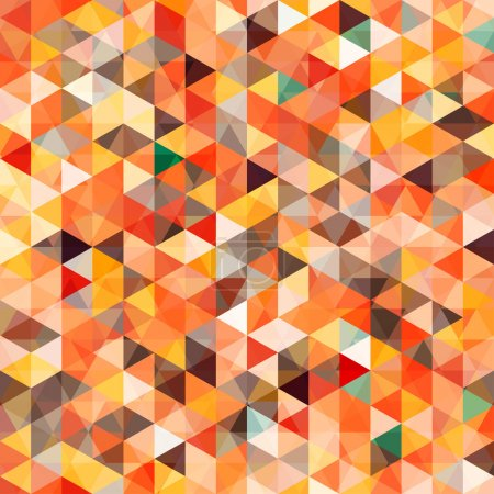 Abstract triangle seamless