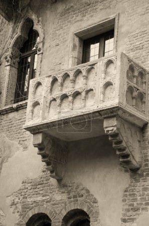 Famous balcony of Juliet