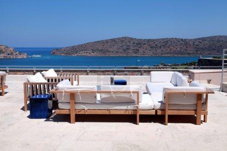 Terrace seaview with sofa (Crete, Greece)