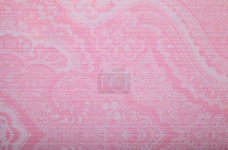 Vintage pink wallpaper