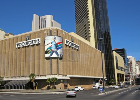 Woolworths department store, Cape Town, South Africa.
