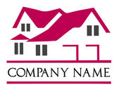 Roof with a window Сompany logo ideas logo templates make your own logo