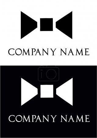 Bow ties for men - logo vector