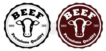 Beef labels