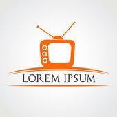 Tv symbol vector illustration