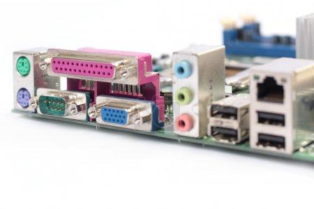 Back panel connectors