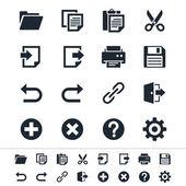 Alkalmazás-eszköztár ikonok