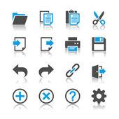 Application toolbar icons - reflection theme