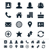 Simple vector icons Clear and sharp Easy to resize No transparency effect EPS10 file