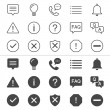 Simple vector icons. Clear and sharp. Easy to resize. No transparency effect.Included normal and enable state.