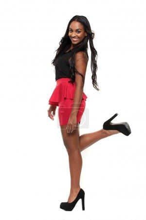Cute Mixed Race Girl Posing