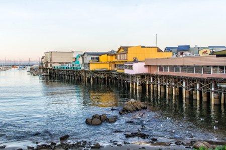 Fisherman's Wharf at Monterey Bay, California