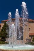 Stanford hoover věž fontána
