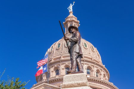 Heroes of the Alamo Monument at the Texas State Capitol