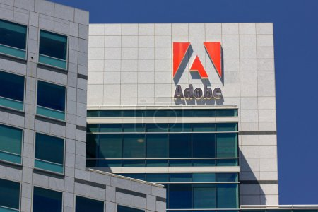 Adobe Systems headquarters in Silicon Valley. Adob...
